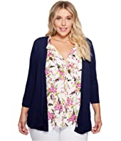 B Collection by Bobeau - Plus Size Knit Cardigan