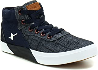 Sparx Men's Canvas Fabric Sneakers