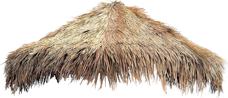 amaZulu Inc. Mexican Straw Roof Washington Mall mart Palm Diameter Umbre Thatch – 9ft