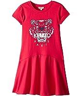 Kenzo Kids - Classic Tiger Dress (Big Kids)