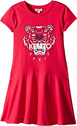 Kenzo Kids Classic Tiger Dress (Big Kids)