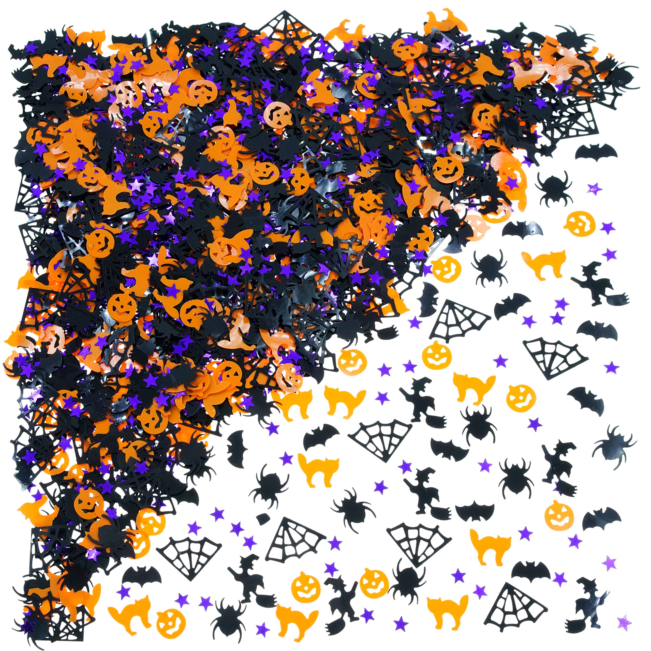 15g Halloween Confetti Pumpkin Spider Witch Bats Confetti Sprinkle Table DecHF