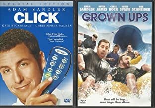 Click and Grown Ups Adam Sandler DVD 2-Pack Combo!