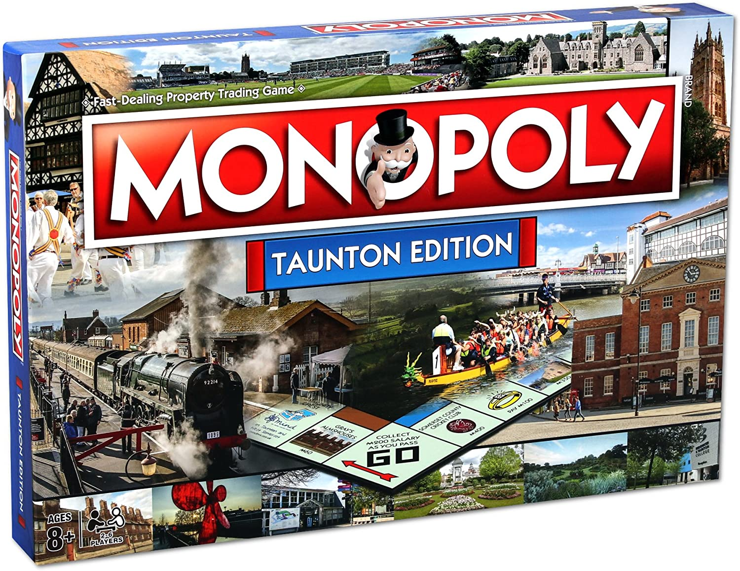 Ranking TOP20 Winning Moves Games Taunton Game Board Max 80% OFF Monopoly