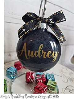 Personalized Christmas Ornament - Great gift for her or white elephant gift exchange Fast Shipping