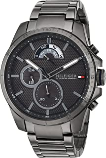 Tommy Hilfiger Men's 1791347 Cool Sport Analog Display Quartz Grey Watch