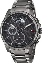 Tommy Hilfiger Men's Cool Sport Quartz Watch with Resin Strap, Grey, 21 (Model: 1791347)