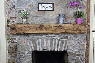 Best rough cut fireplace mantel Reviews
