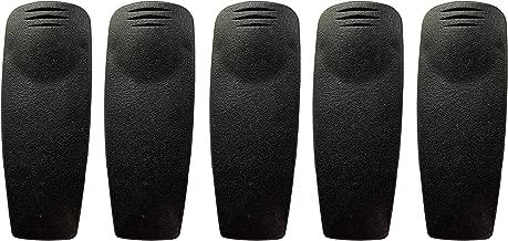 Radio Belt Clip for Motorola XTS2500 XTS2250 XTS1500 CP125 CP185 GP340 GP380 HT750 HT1250 Similar to HLN9844A (Pack of 5)
