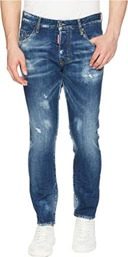 DSQUARED2 Butch Wash Skater Jeans