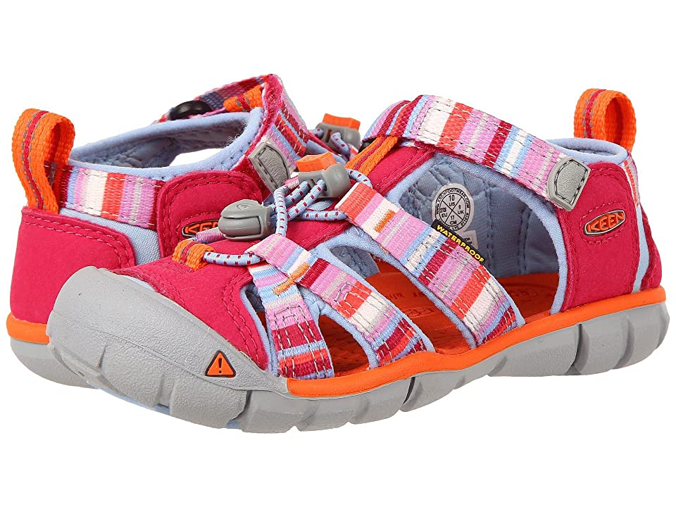 Keen Kids Seacamp II CNX (Toddler/Little Kid) (Bright Rose Raya) Girls Shoes