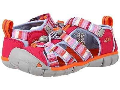 Keen Kids Seacamp II CNX (Toddler/Little Kid) (Bright Rose Raya) Girls Shoes