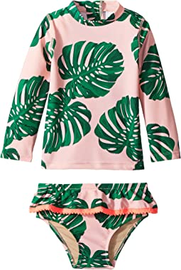 shade critters - Botanical Rashguard Set (Infant/Toddler)