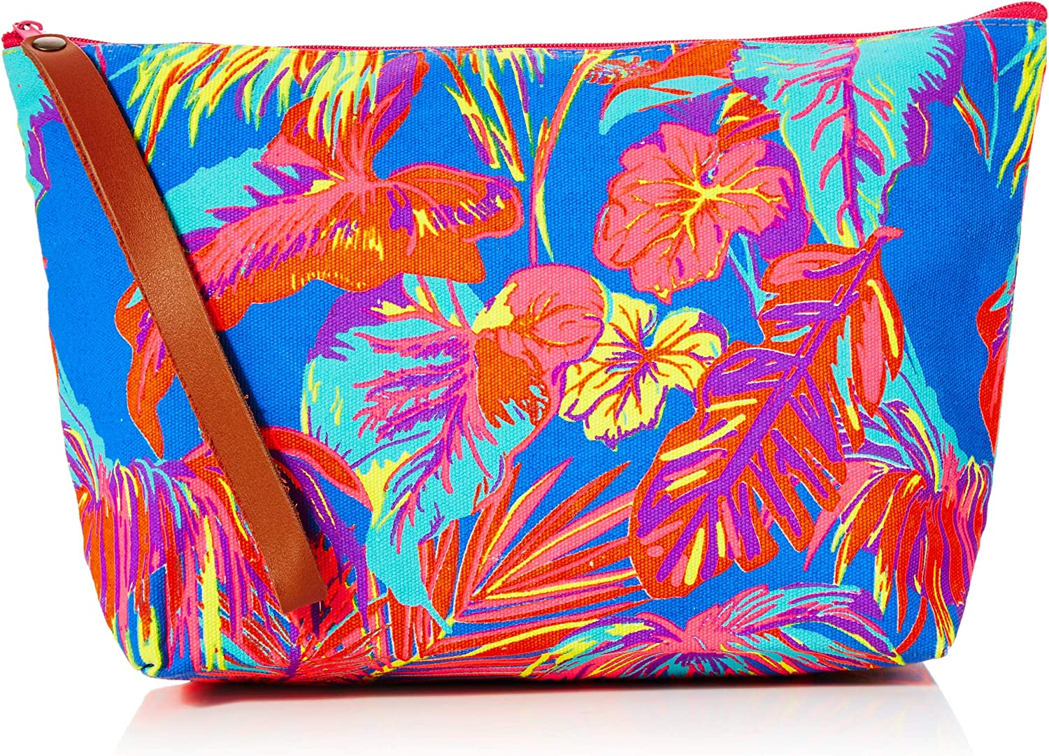 The Holiday Shop London Canvas Clutch Bag Tropical