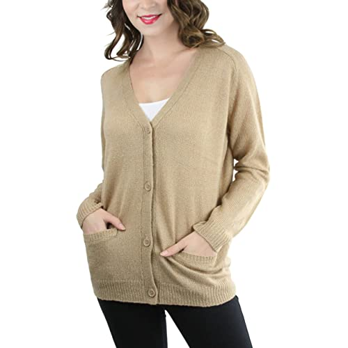 b7dbcfc09bf Tan Sweater: Amazon.com