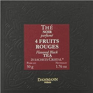 DAMMANN FRERES Quatre Fruits Rouges Tea Sachets, 25 count