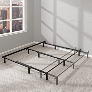"""Best Price Mattress Adjustable Bed Frame - 7"""" Metal Platform Bed Frame w/Heavy Duty Steel Construction Compatible with Twin, Full, and Queen Size"""