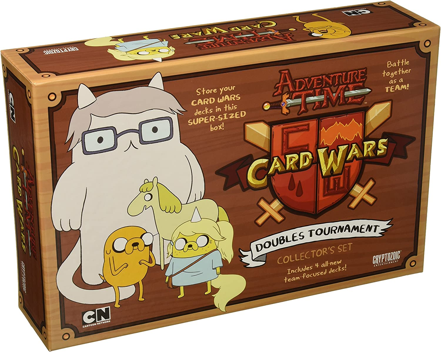 a la venta Adventure Time Coched Coched Coched Wars  Doubles Tournament - English  barato y de alta calidad