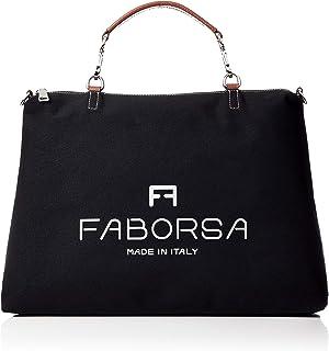 [ファボルサ] F8 BAG エフエイトバッグ Lサイズハンドバッグ<イタリア製> F80002-600-006 ブラック
