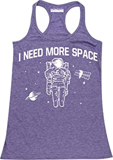 P&B I Need More Space Funny Science Women's Tank Top