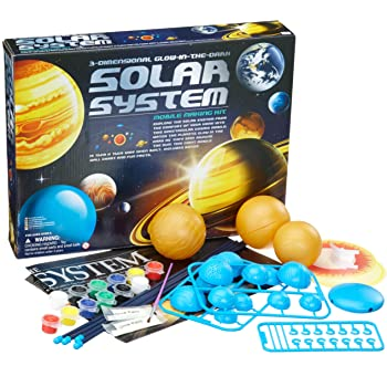BRAINSTORM Toys Il mio sistema solare Desktop Divertente PIANETA SCIENZA