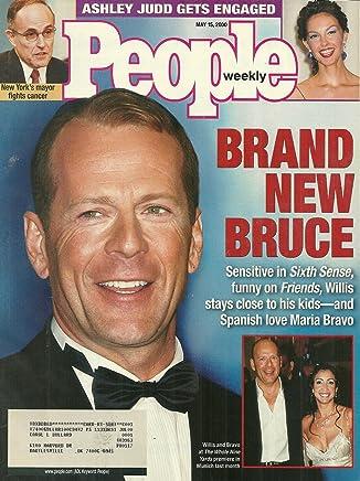 Bruce Willis, Rudy Giuliani, Ashley Judd - May 15, 2000
