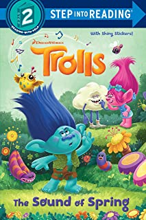 The Sound of Spring (Step Into Reading, Step 2: DreamWorks Trolls)