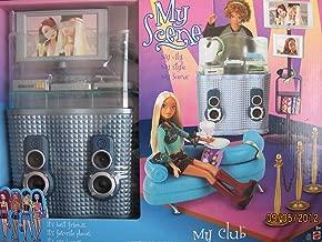 BARBIE My Scene MY CLUB PLAYSET w DJ Booth & Lots More! (2003)
