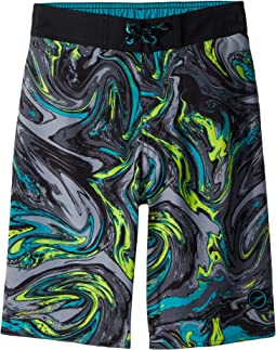 Marble Swirl E-Boardshorts (Little Kids/Big Kids)