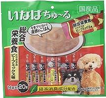 いなば 犬用おやつ ちゅ~る 総合栄養食 とりささみ ビーフミックス味 14グラム (x 20)