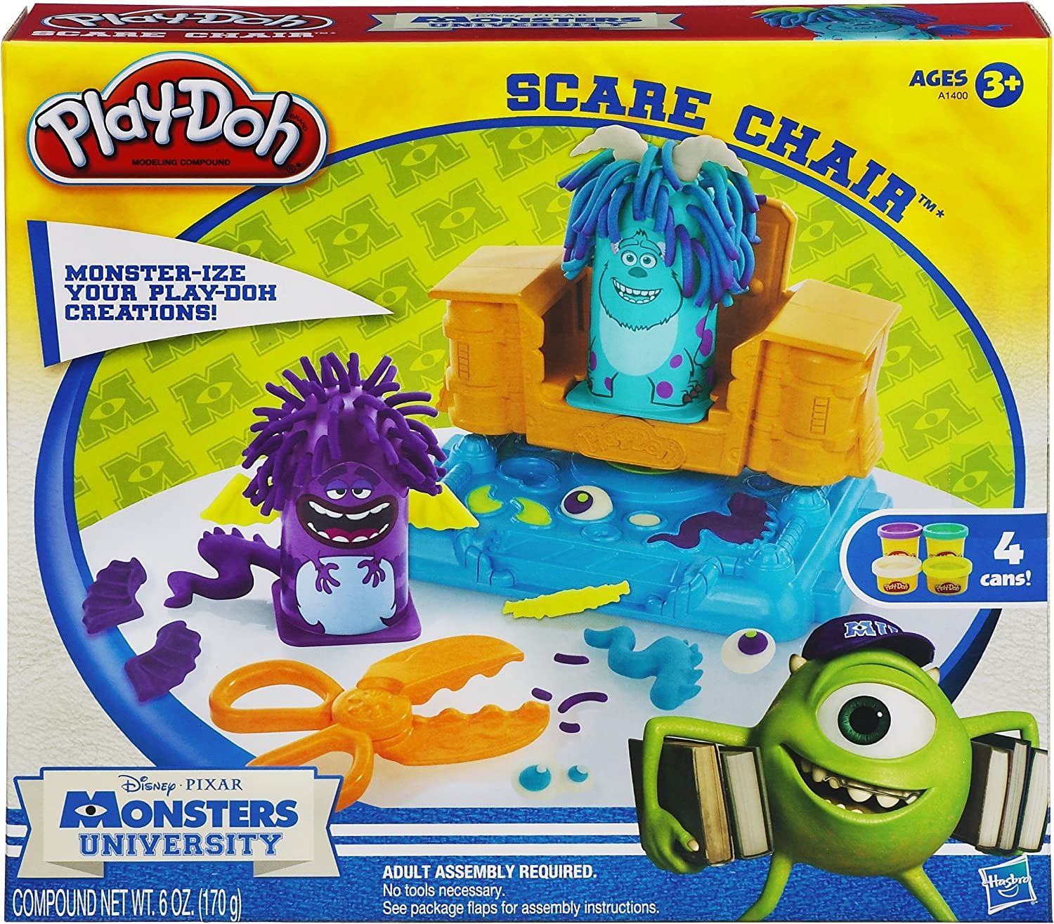 Play Doh Monsters University Scare Chair