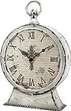 Stonebriar Relógio de mesa Faith, pacote com 1, cinza