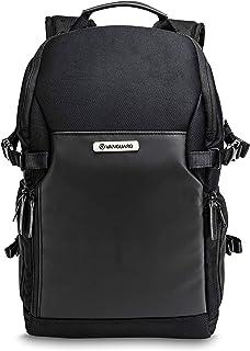 Veo Select 37BRM BK - Mochila fotográfica para cámara sin espejo, acceso posterior y lateral, color Negro