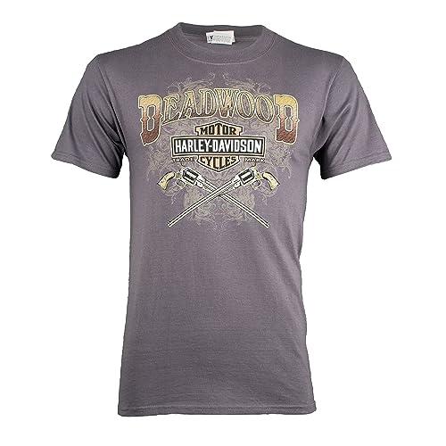 34785ab243 Harley-Davidson Deadwood Men's Wild Bill Guns Short Sleeve T-Shirt