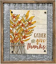 CWI Gifts Gather and Give Thanks Hanging Sign, Multi