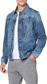 G-STAR RAW Men's Scutar Denim Jacket