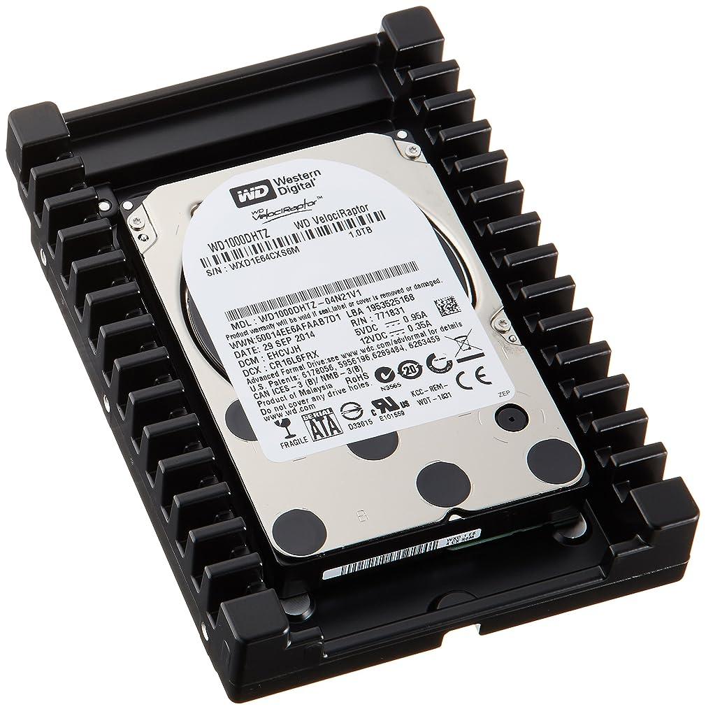 グラムヒューマニスティック仕様WESTERN DIGITAL 3.5インチ内蔵HDD SATA6.0Gb/s 64MB 1TB 10000rpm WD1000DHTZ