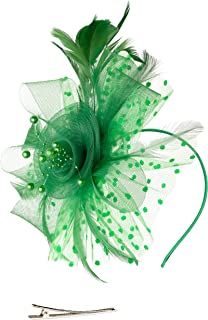 Best green feather hair clip Reviews