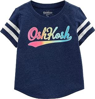OshKosh B'Gosh Baby Girls' Toddler Logo T-Shirt