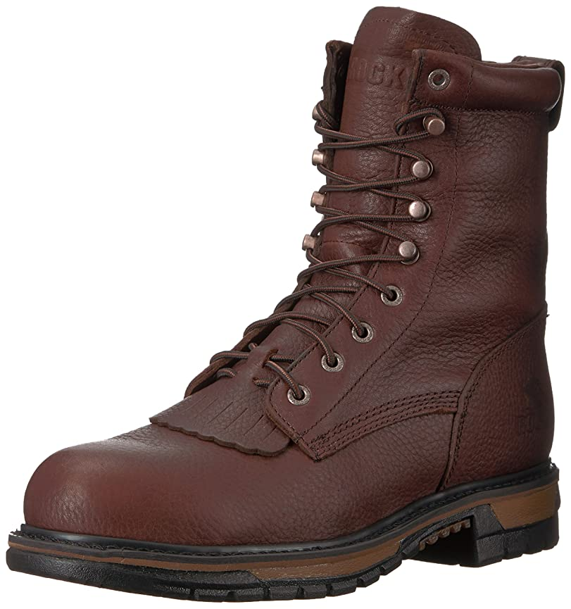 プロポーショナル内向き発信[Rocky] ロッキーMen 's Original Ride防水Western Lacer Boot Safety Toe?–?fq0006717