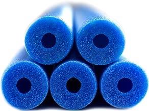 Fix Find 5 Pack of Blue Flexible Colorful Foam Swim/Float/Pool Noodles - 48 inch