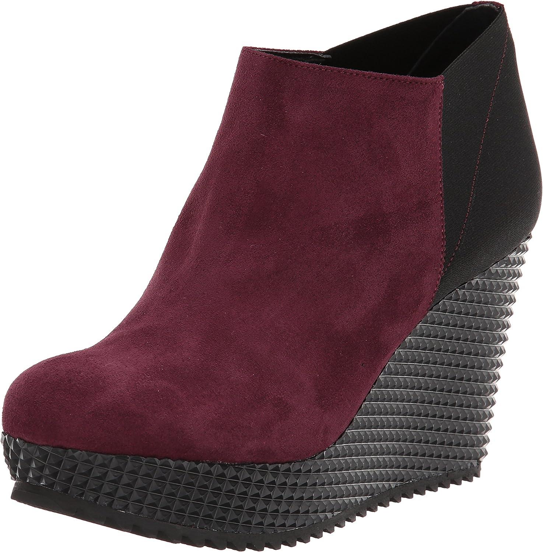 Studio Pollini Women's Chunky Wedge Ankle Boot