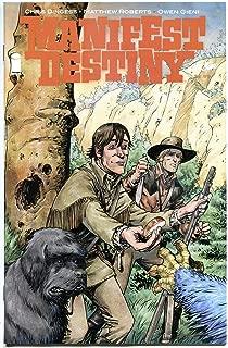 MANIFEST DESTINY #13, NM, 1st print, Lewis Clark trek expedition, Monsters