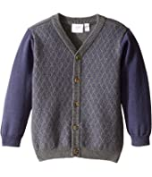 Kardashian Kids - Diamond Intarsia Knit Cardigan (Infant)