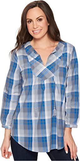 Roper 1262 Blue Grey Plaid