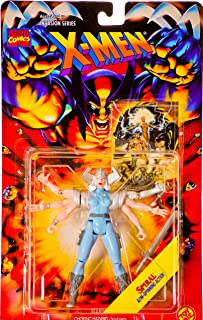 Marvel 1995 - Toy Biz Comics - Invasion Series X-Men - Spiral Action Figure - w/ Arm-Spinning Action - Includes Official Fleer Trading Card - Out of Production - New - Collectible