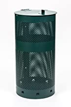Round Waste Can - 100% Rust-Free Aluminum - D030