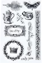 Prima Marketing 990930 Icons Tales of You & Me Cling Rubber Stamps, 4
