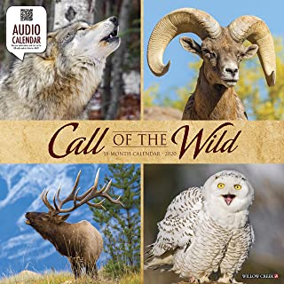 Call of the Wild 2020 Wall Calendar