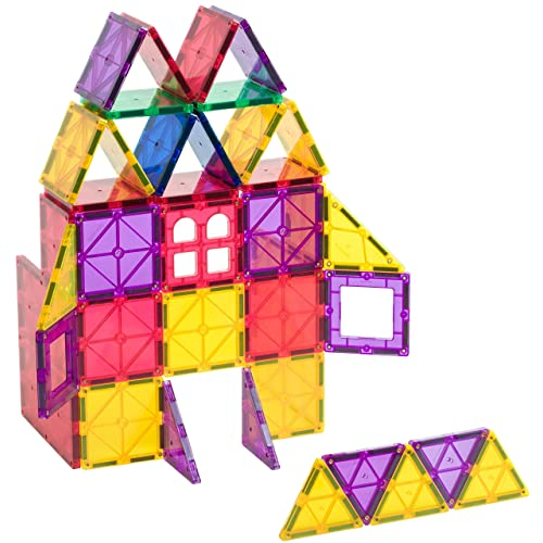 Playmags 60 piece Magentic Tiles